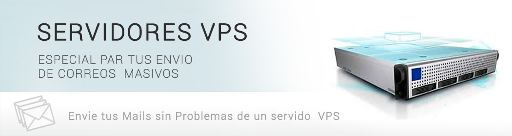 Base de Marketing  -  Servidores VPS para correos Masivos